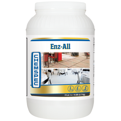 Chemspec Enz-All Pre-Spray 4 x 2.7kg tubs