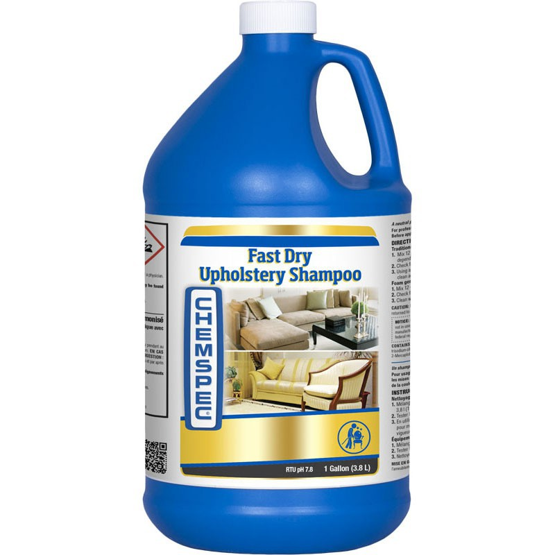 Chemspec Fast Drying Upholstery Shampoo -4 x 3.78 Litres