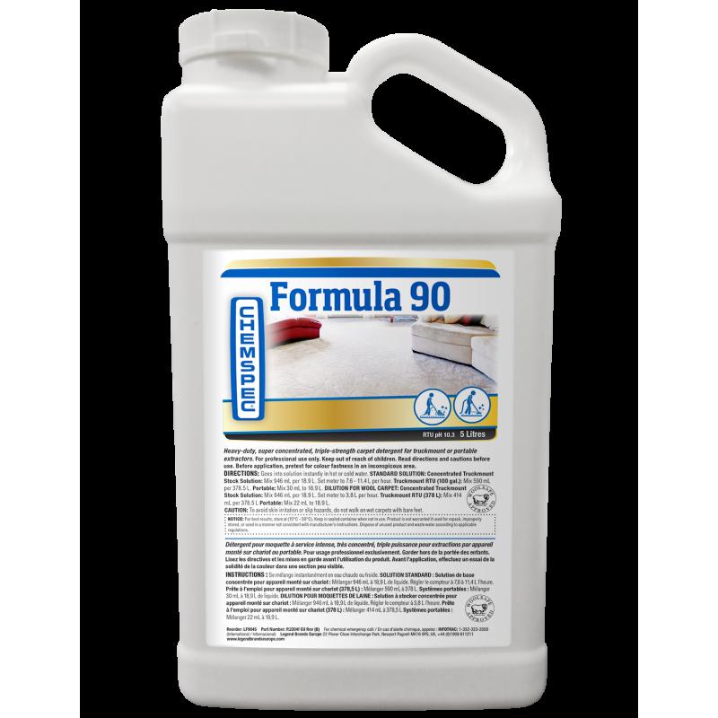 Chemspec Formula 90 Liquid- 4 x 5 Litres