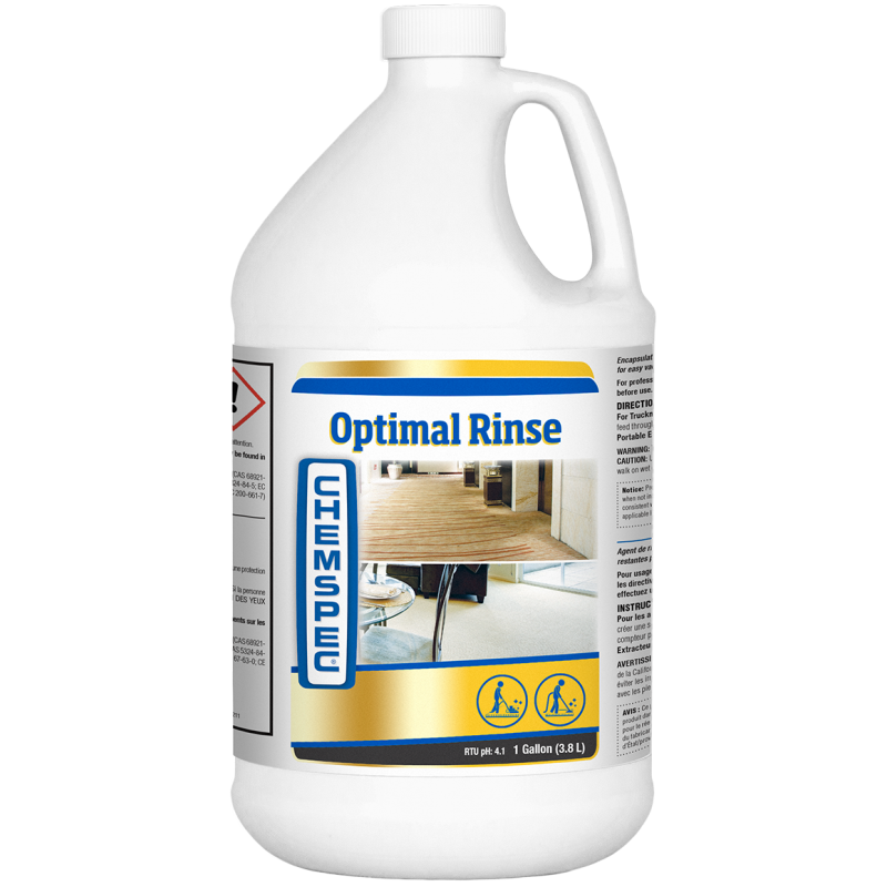 Chemspec Optimal Rinse 4 x 3.78 Litres