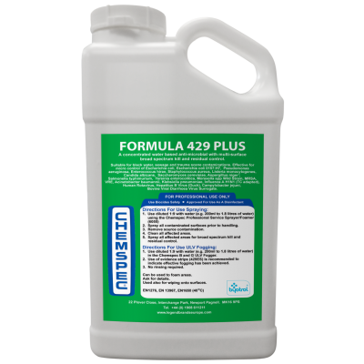 Chemspec 429 Plus - 4 x 5 Litres  OUT OF STOCK