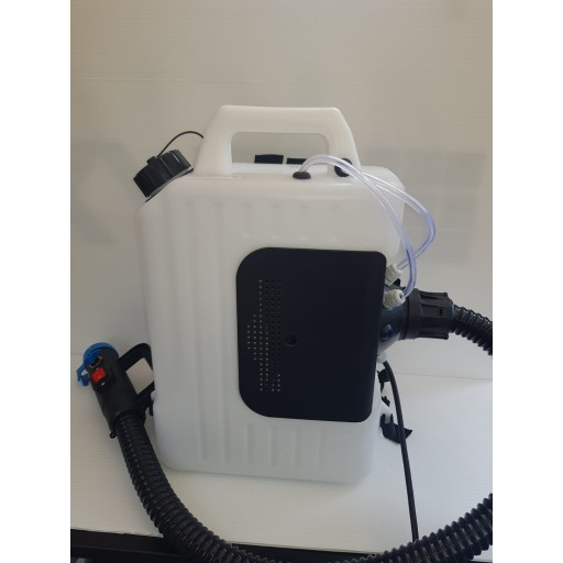 Fogging machine for cleaning and sanitising against COVID 19