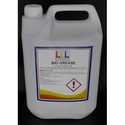 Bio-Grease – Industrial grease trap cleaner 5 Litres