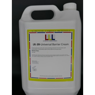 UNIVERSAL BARRIER CREAM- Barrier Cream 5 Litres