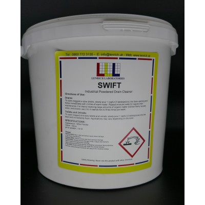 Swift Industrial Powdered Drain Cleaner 1Kg