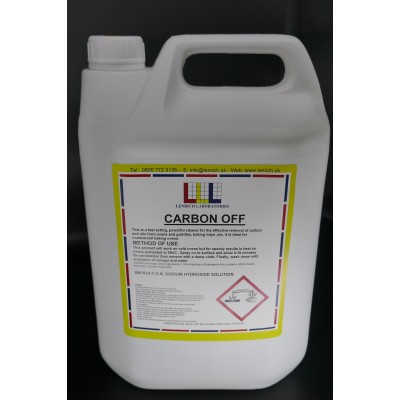 CARBON-OFF- Spray on oven cleaner 5 Litres