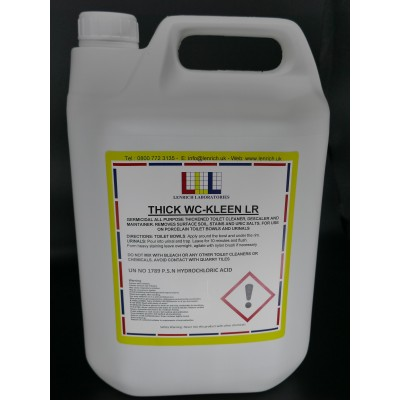 THICK WC-KLEEN- Toilet cleaner  12 x 1 Litre @ £3.99 each