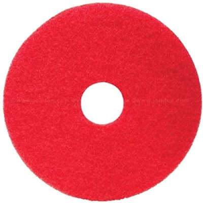 Box of 5 -Red Floor Cleaning Pads
