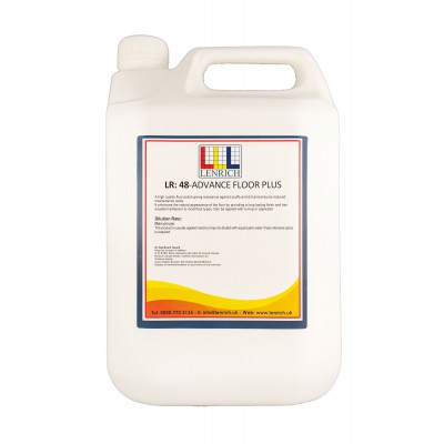 ADVANCE FLOOR PLUS -Floor Polish- 5 Litres