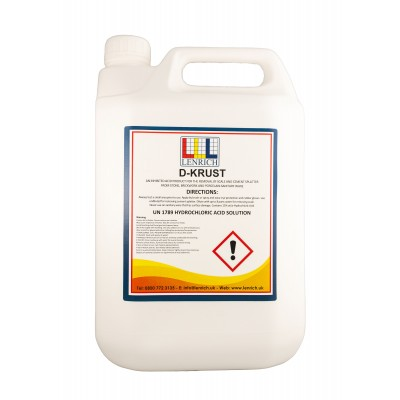D-KRUST- Stone and Brickwork Cleaner - 5 Litres