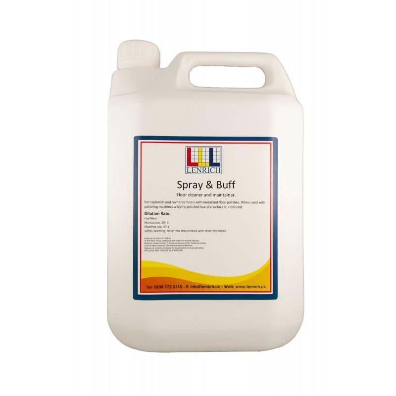 SPRAY & BUFF – Floor Maintainer  5 Litres